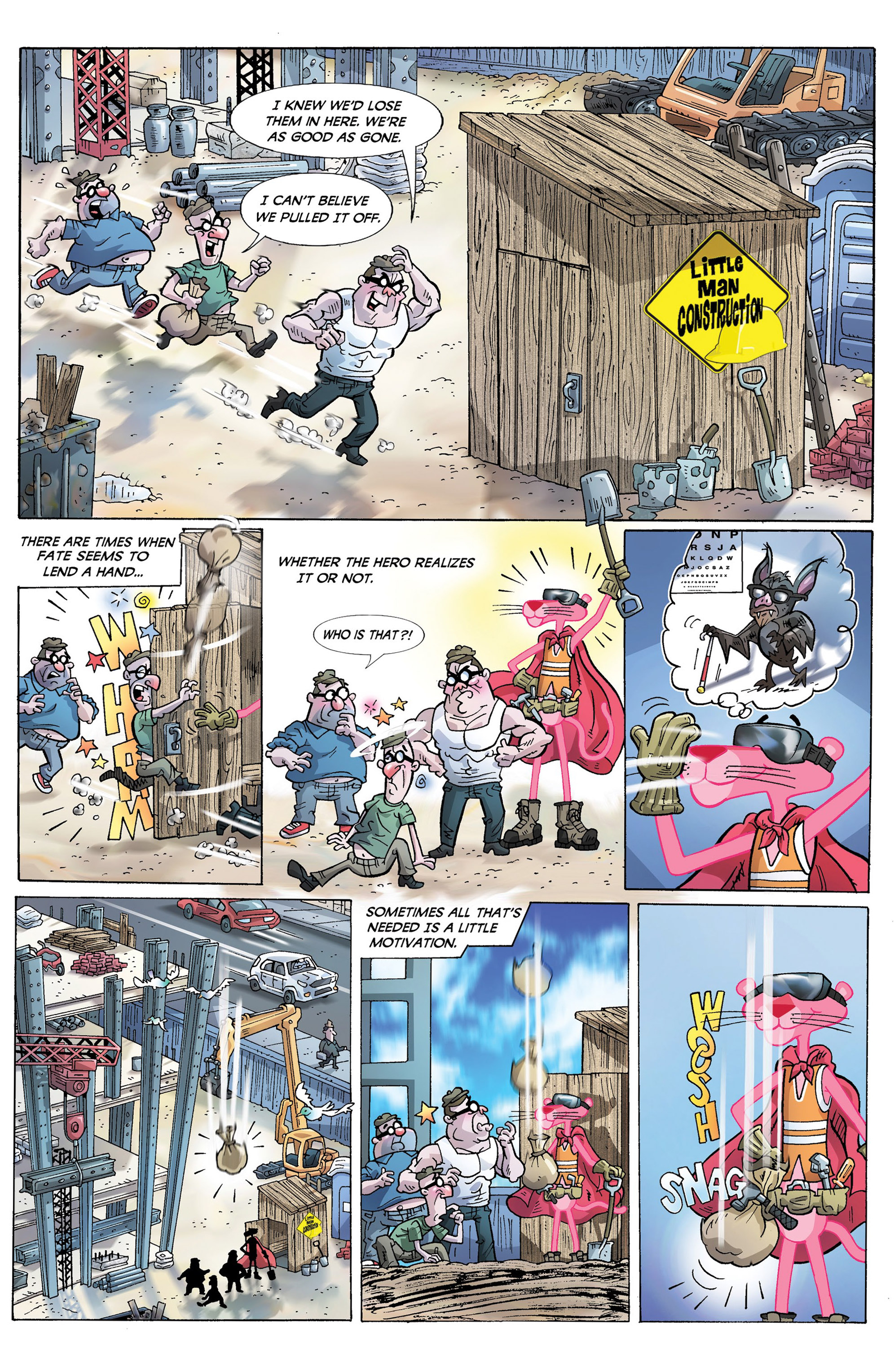 Read online Pink Panther Super-Pink Special comic -  Issue # Full - 5