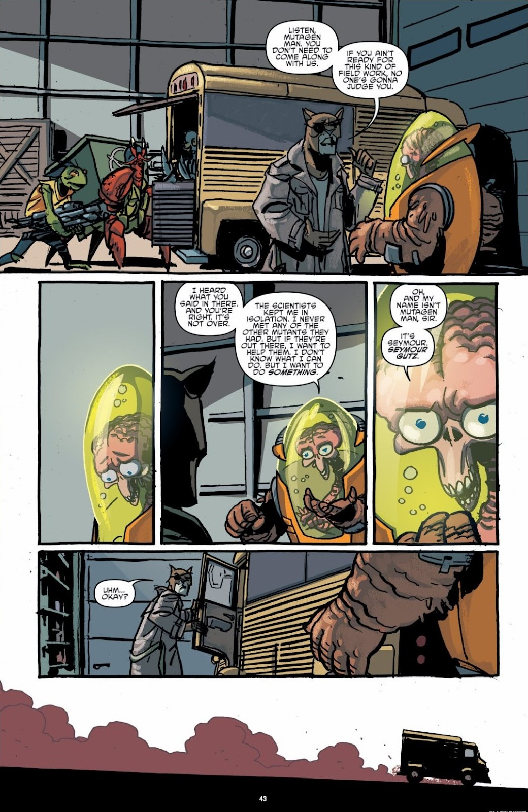 Read online Teenage Mutant Ninja Turtles: The IDW Collection comic -  Issue # TPB 6 (Part 1) - 42