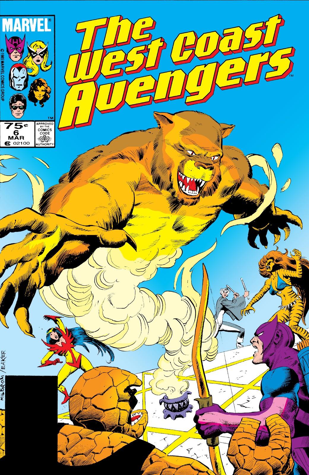West Coast Avengers (1985) 6 Page 1