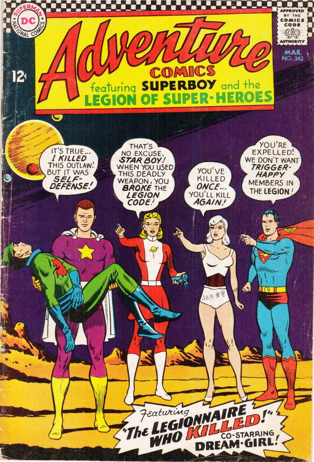 Read online Adventure Comics (1938) comic -  Issue #342 - 1