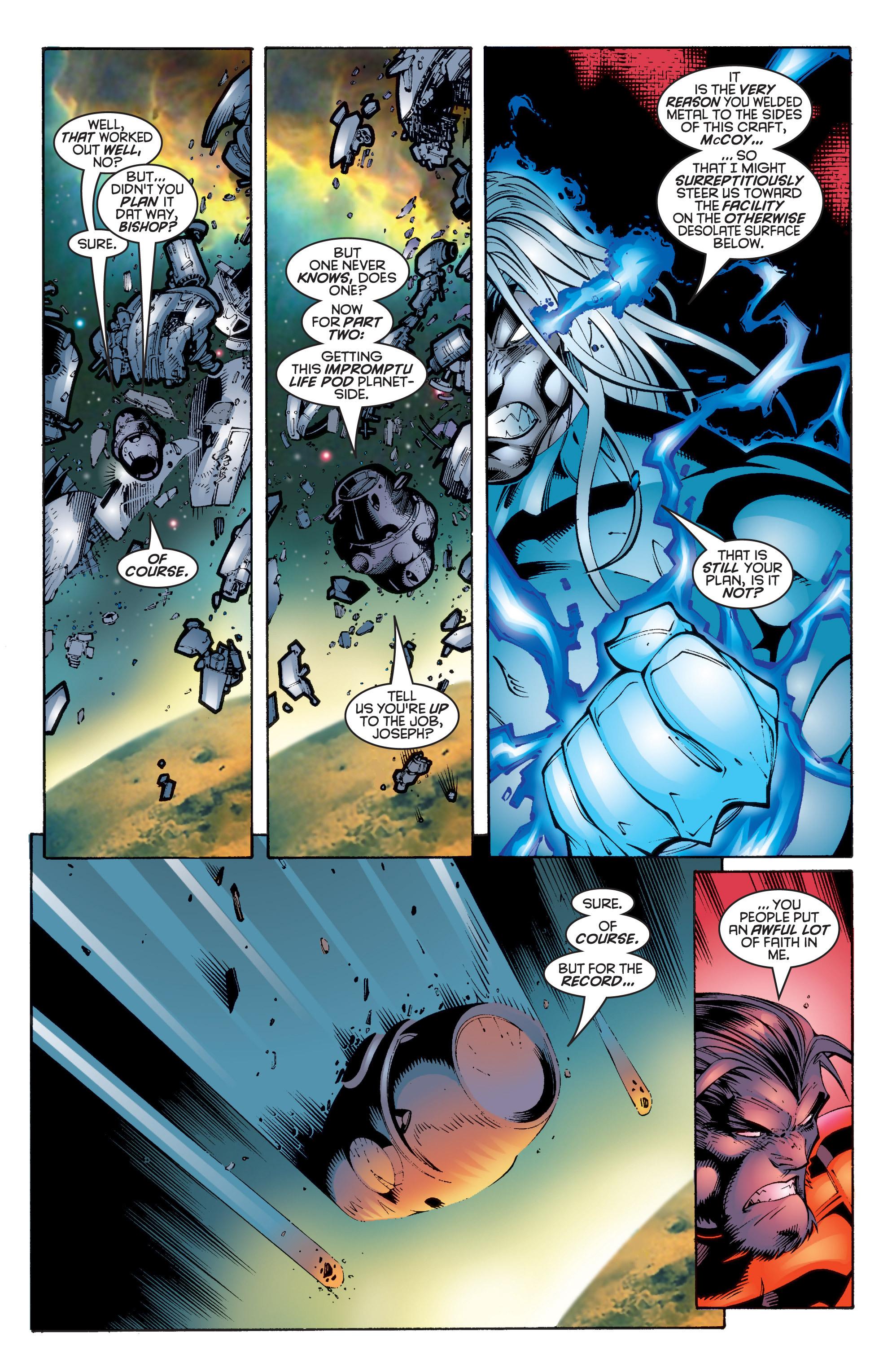 Read online Uncanny X-Men (1963) comic -  Issue #343 - 21