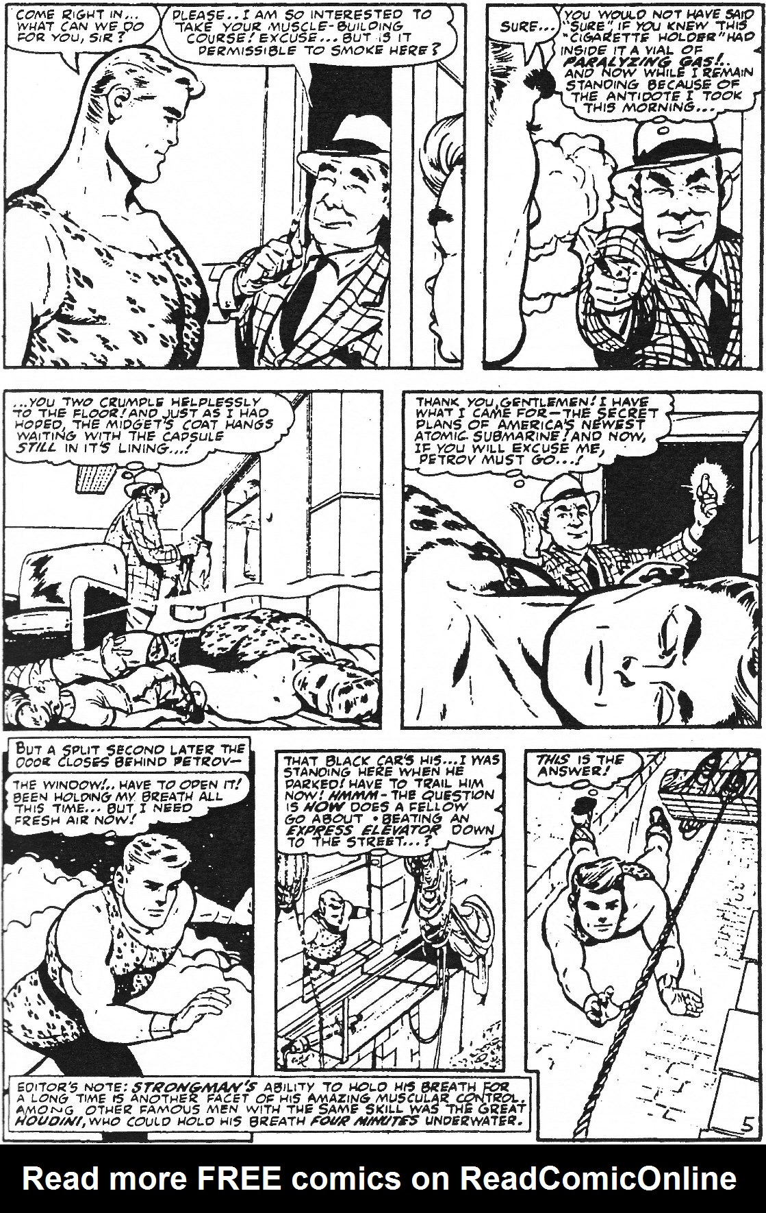 Read online Men of Mystery Comics comic -  Issue #61 - 31