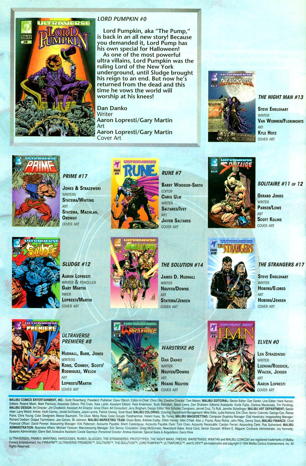 Read online UltraForce (1994) comic -  Issue #2 - 28