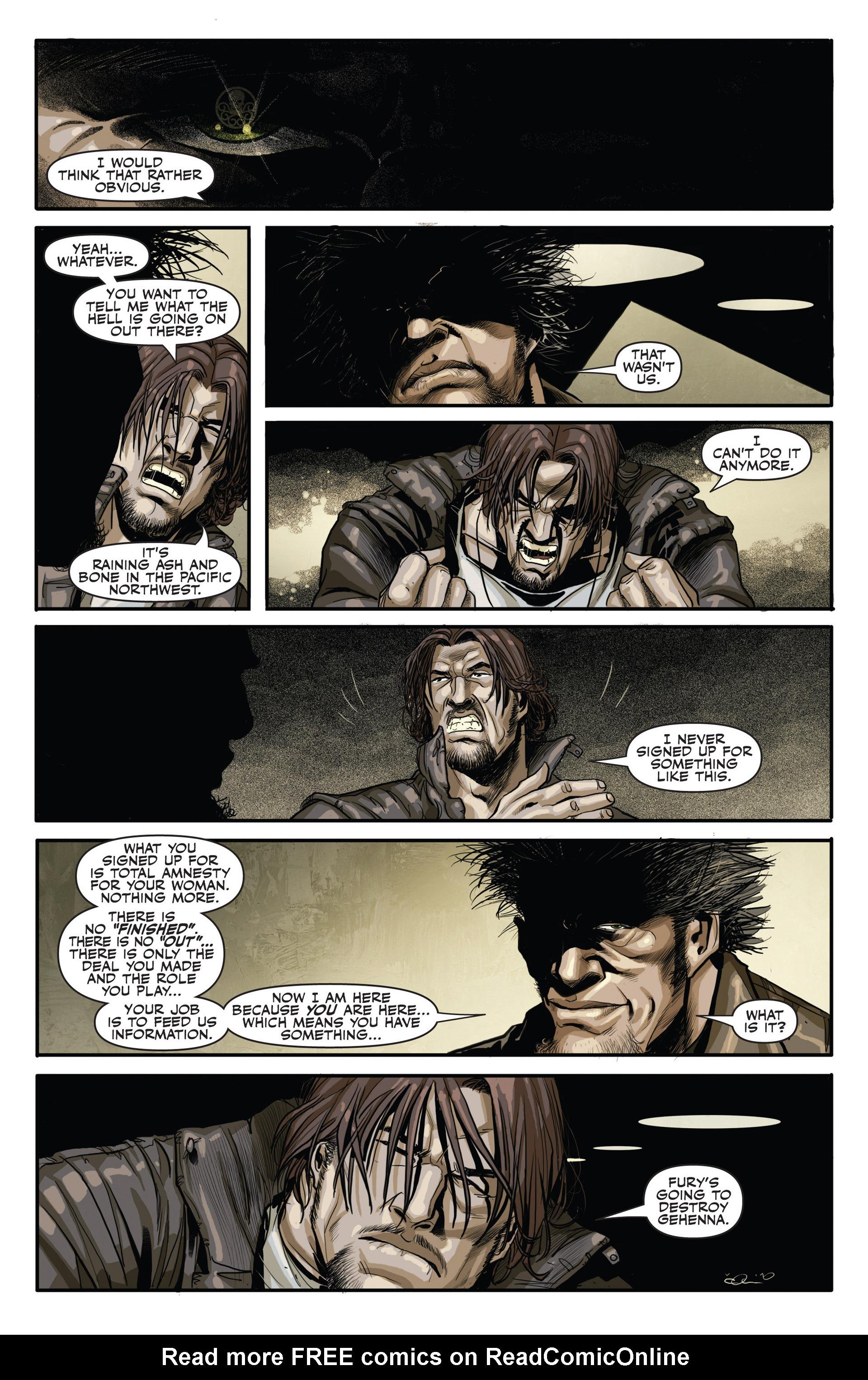 Read online Secret Warriors comic -  Issue #20 - 14