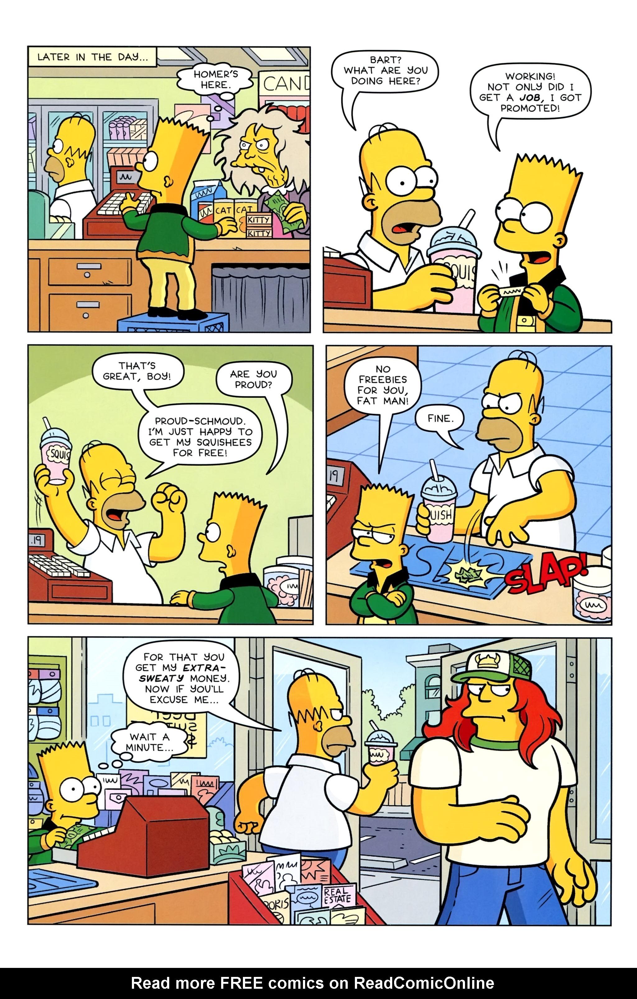Read online Simpsons Comics Presents Bart Simpson comic -  Issue #95 - 12