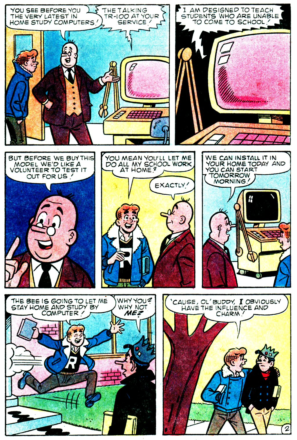 Read online Archie (1960) comic -  Issue #329 - 14