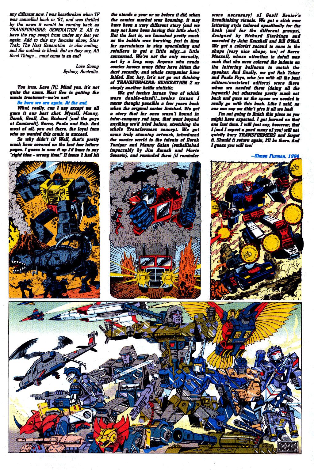 Read online Transformers: Generation 2 comic -  Issue #12 - 39