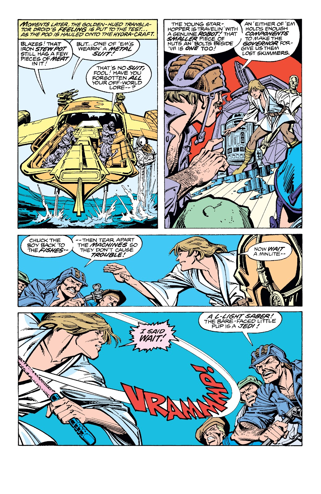 Read online Star Wars Legends: The Original Marvel Years - Epic Collection comic -  Issue # TPB 1 (Part 3) - 14
