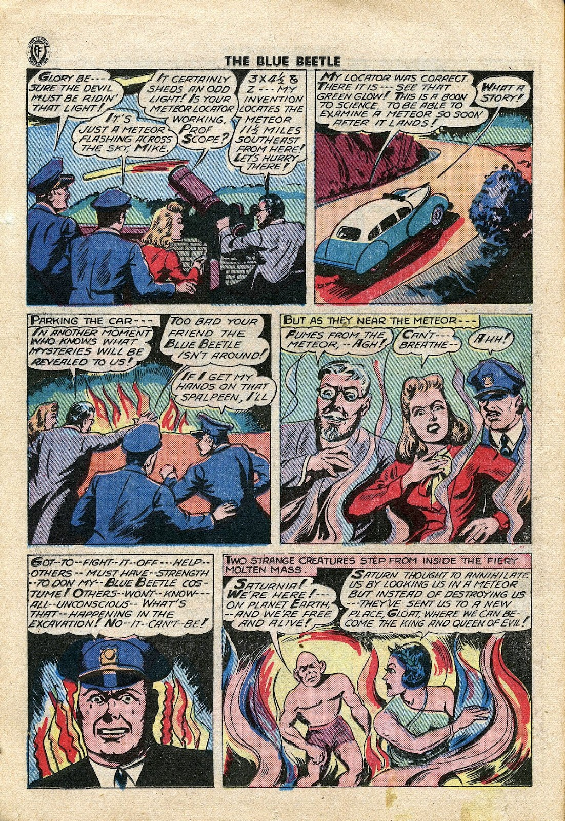 The Blue Beetle issue 34 - Page 15