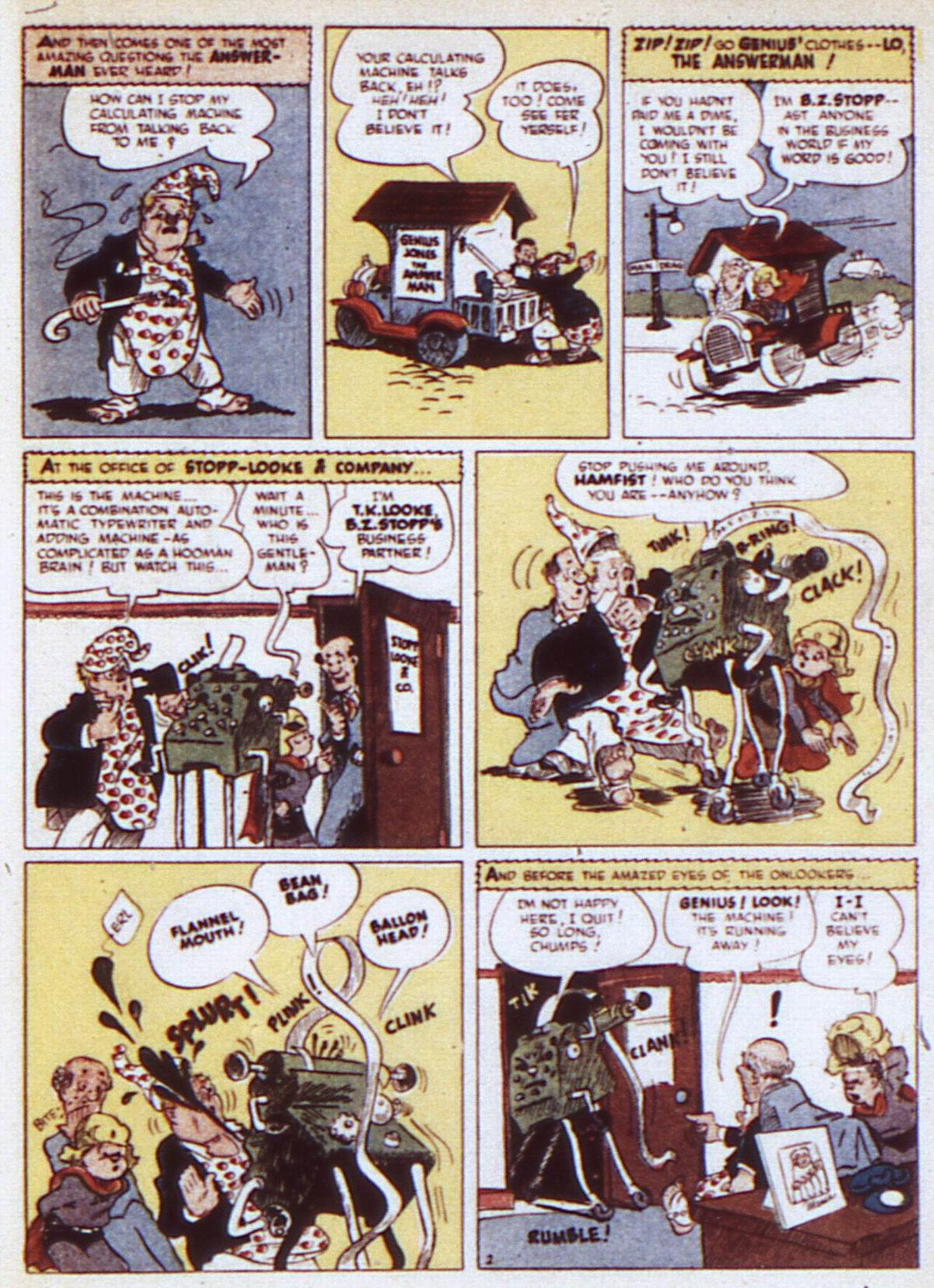 Read online Adventure Comics (1938) comic -  Issue #84 - 39