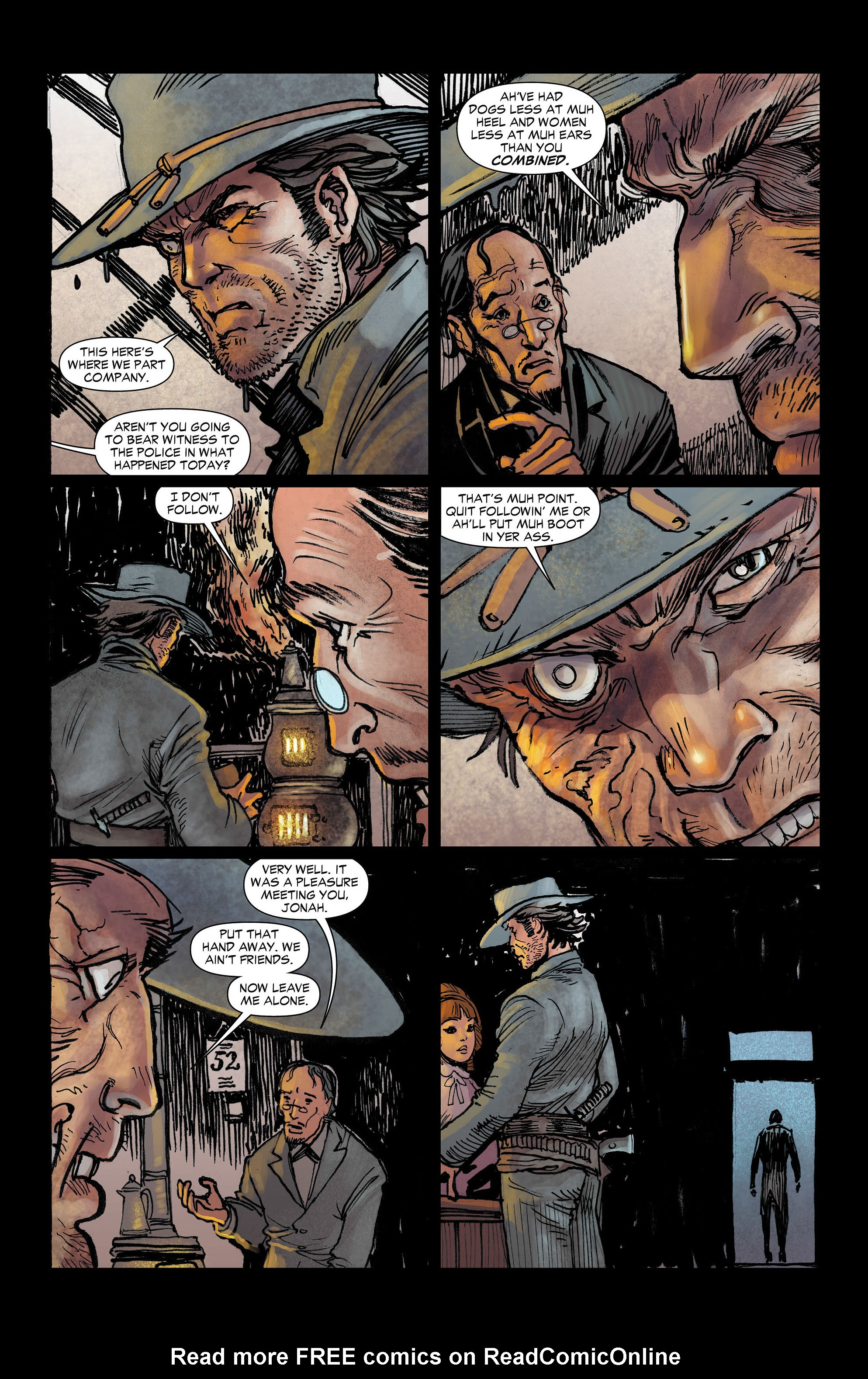 Read online All-Star Western (2011) comic -  Issue #3 - 14