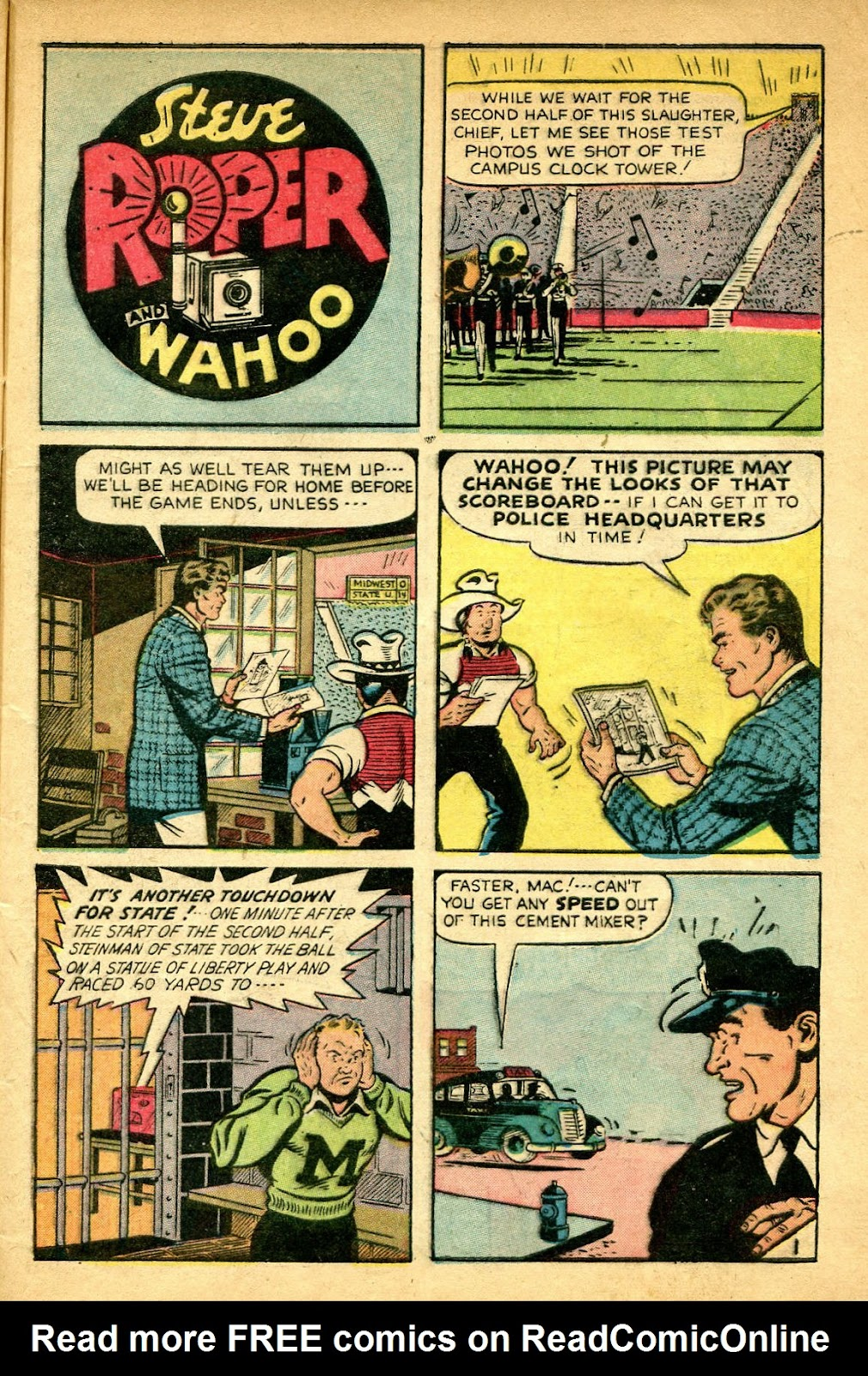 Read online Famous Funnies comic -  Issue #182 - 9