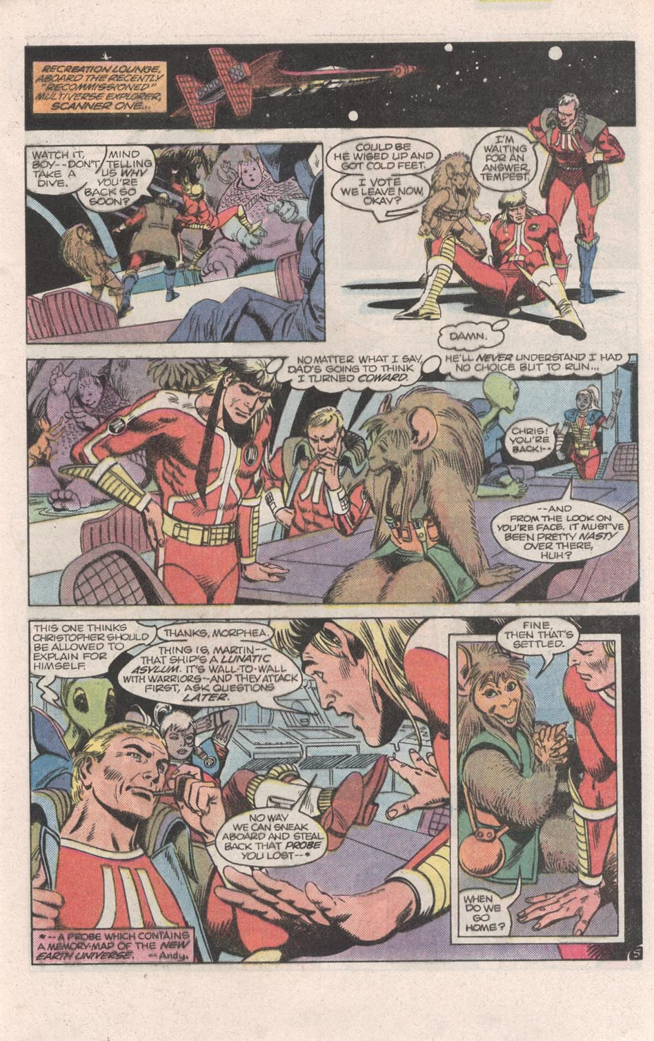 Read online Atari Force (1984) comic -  Issue #6 - 7
