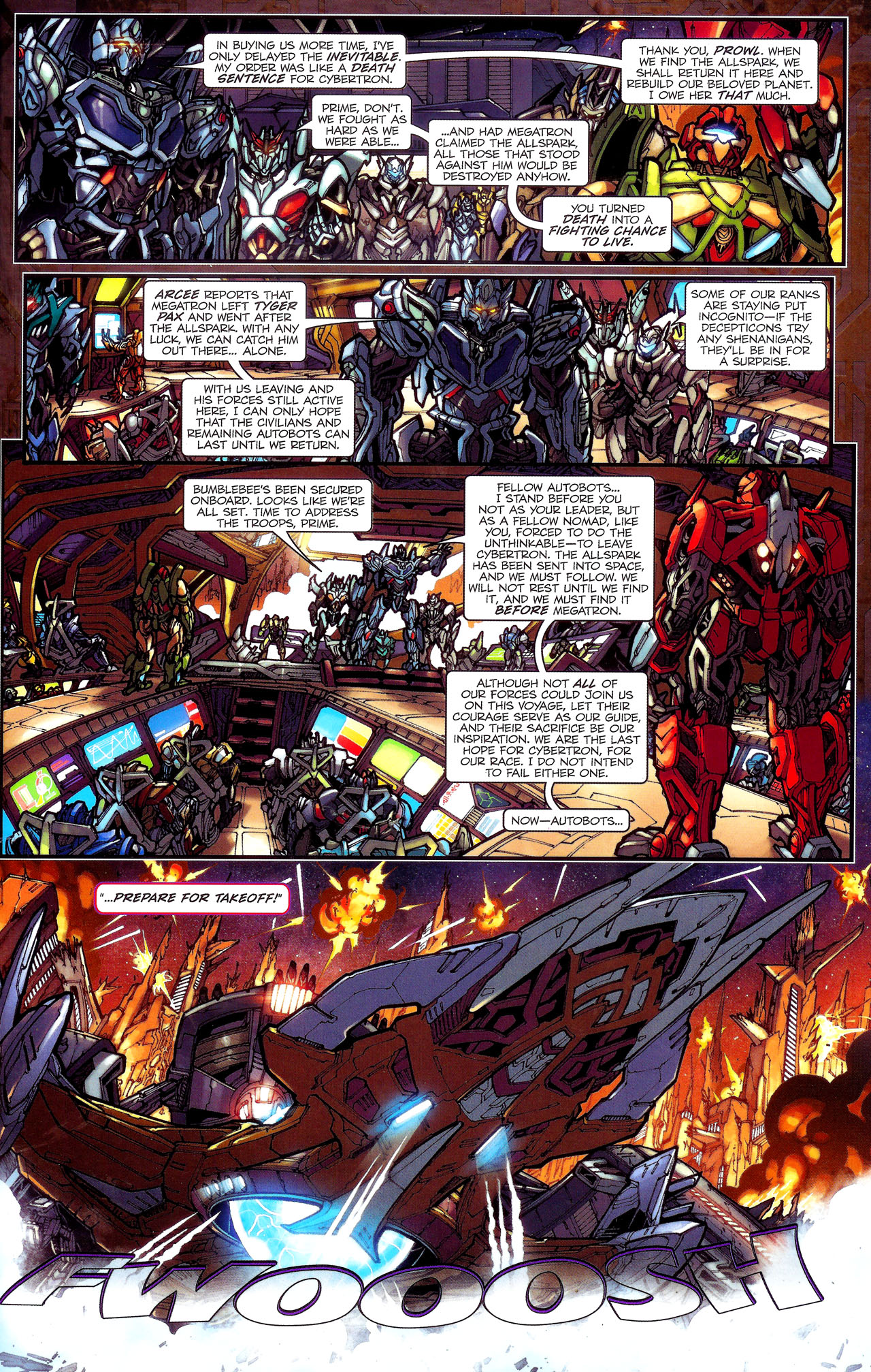 Read online Transformers: The Reign of Starscream comic -  Issue #1 - 6