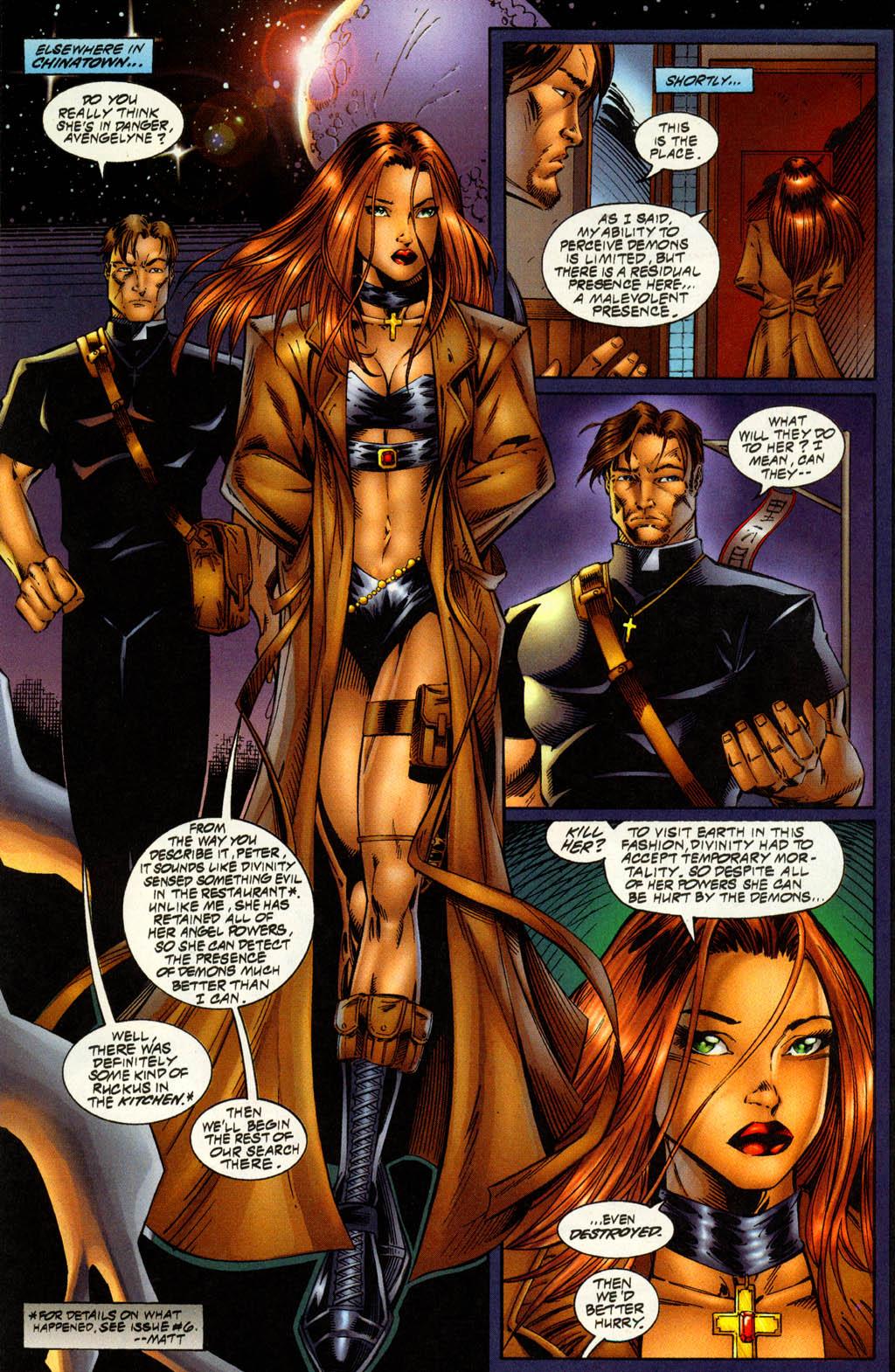 Read online Avengelyne (1996) comic -  Issue #7 - 4