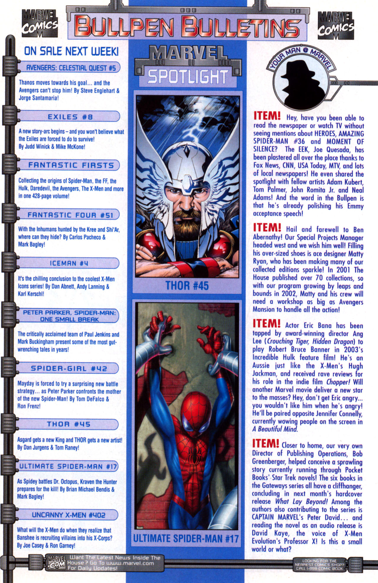 Read online Ultimate Marvel Team-Up comic -  Issue #11 - 19