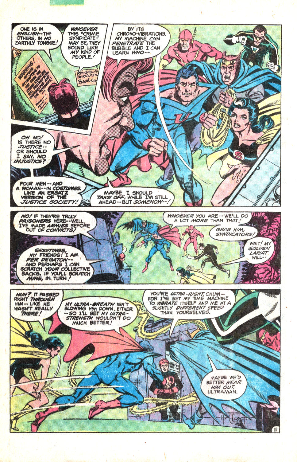 Read online All-Star Squadron comic -  Issue #14 - 15
