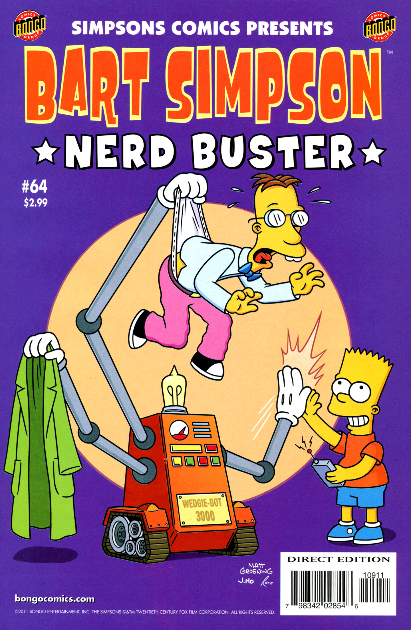 Read online Simpsons Comics Presents Bart Simpson comic -  Issue #64 - 1