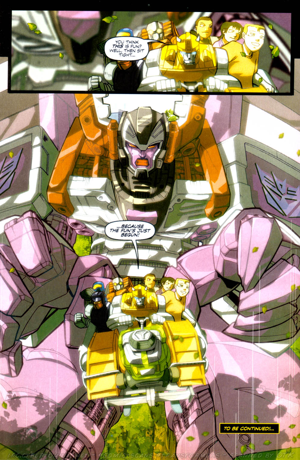 Read online Transformers Armada comic -  Issue #3 - 26
