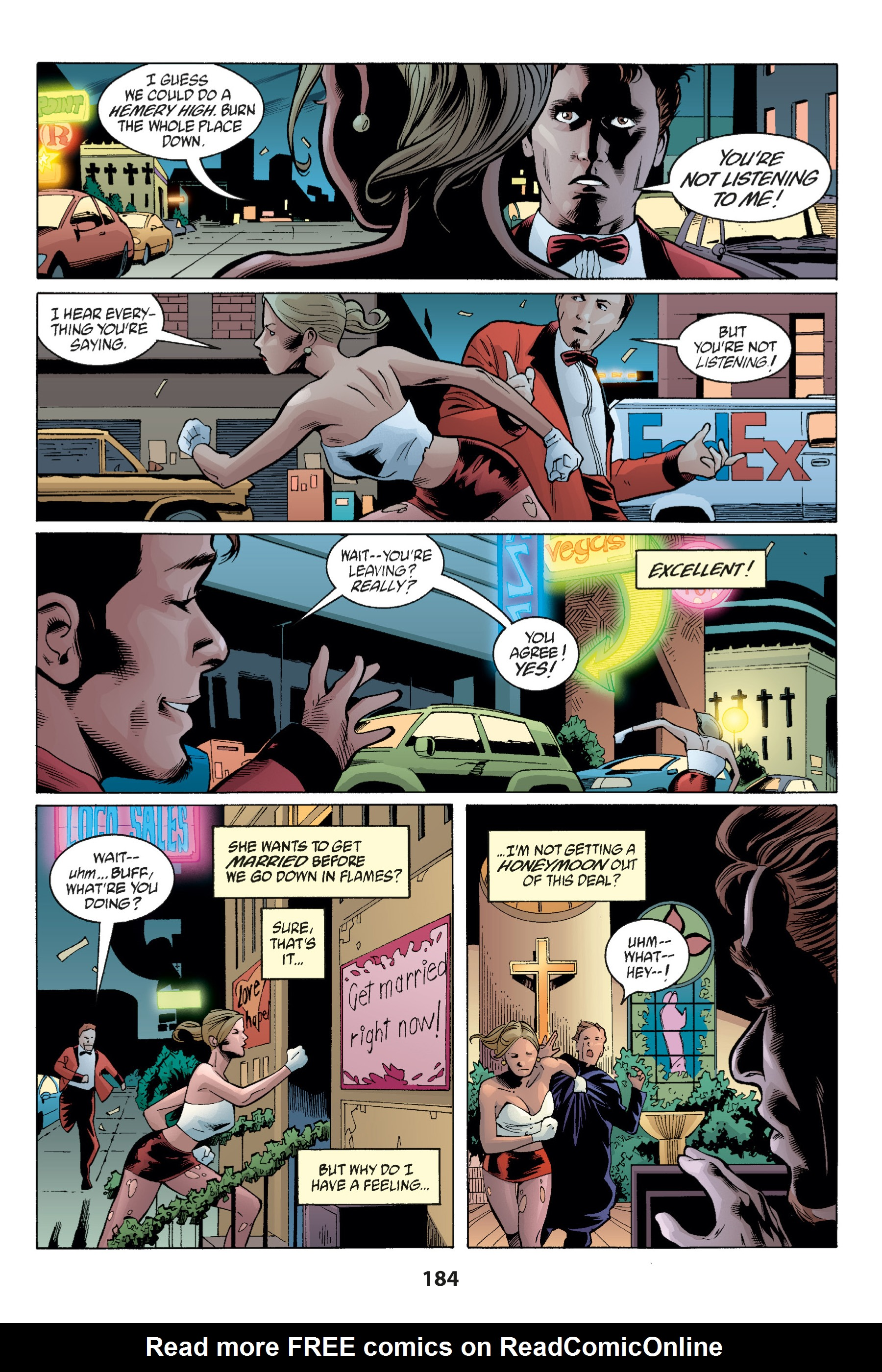 Read online Buffy the Vampire Slayer: Omnibus comic -  Issue # TPB 1 - 182