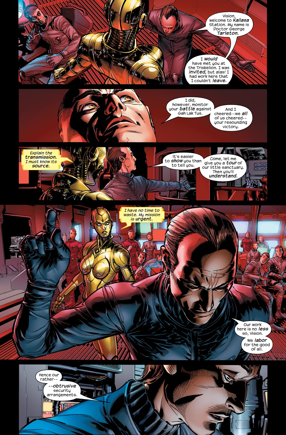 Read online Ultimate Vision comic -  Issue #1 - 11