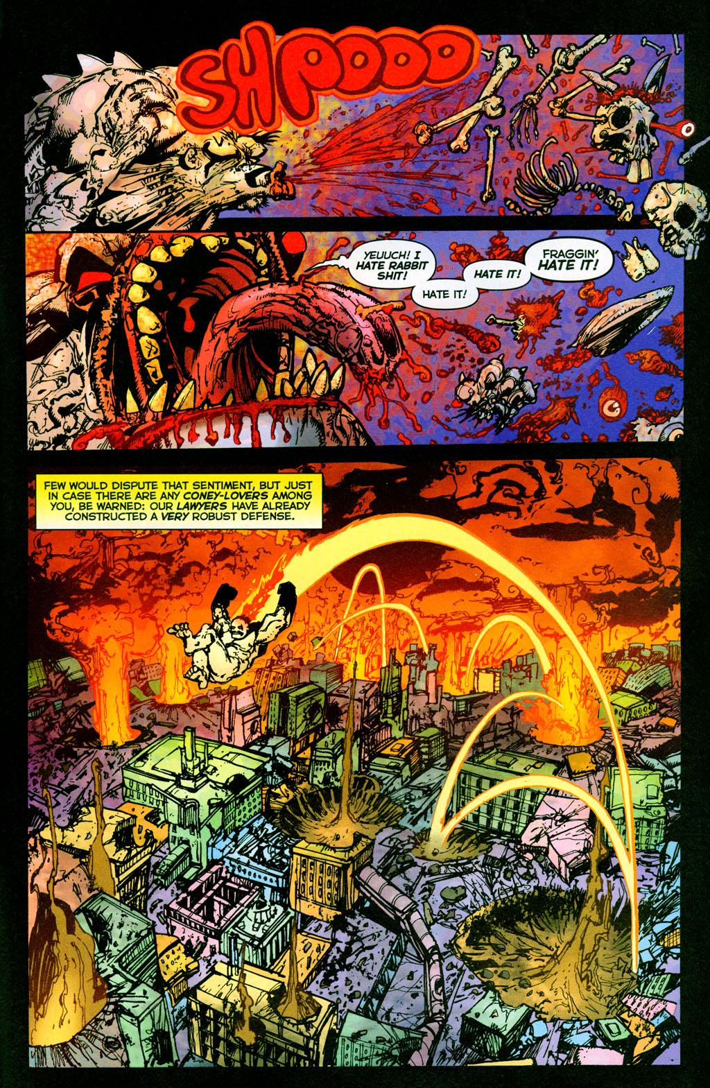 Read online The Authority/Lobo: Spring Break Massacre comic -  Issue # Full - 38