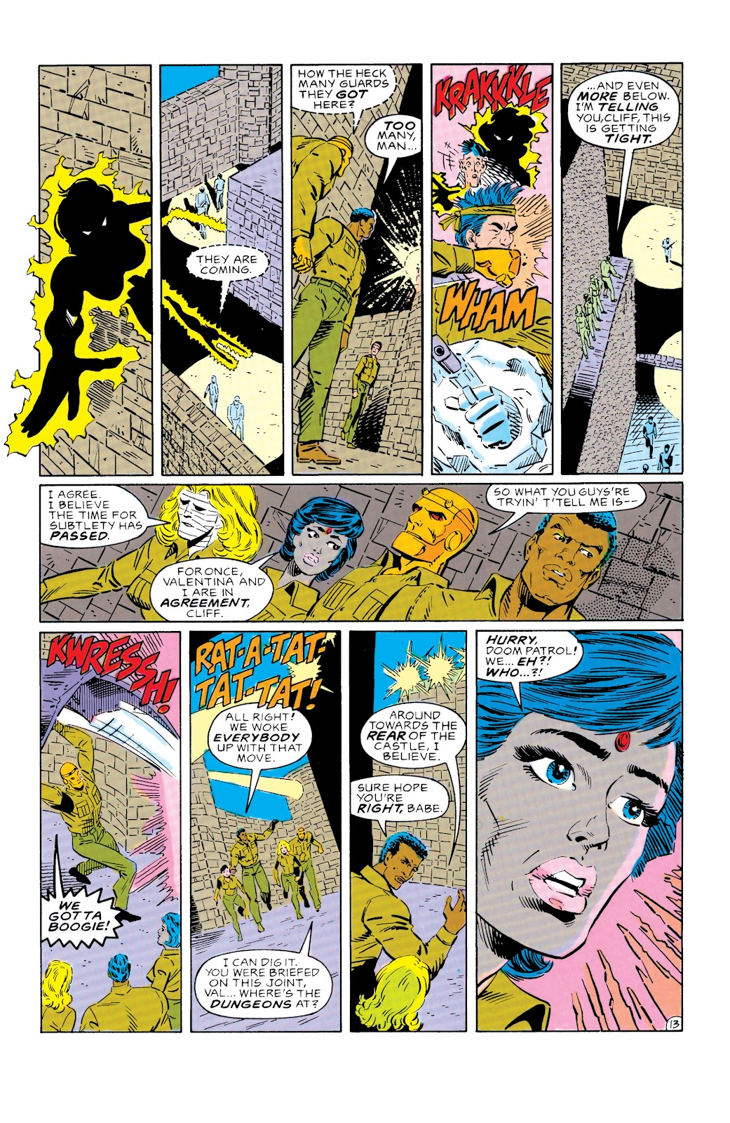 Doom Patrol and Suicide Squad Special issue Special 1 - Page 14