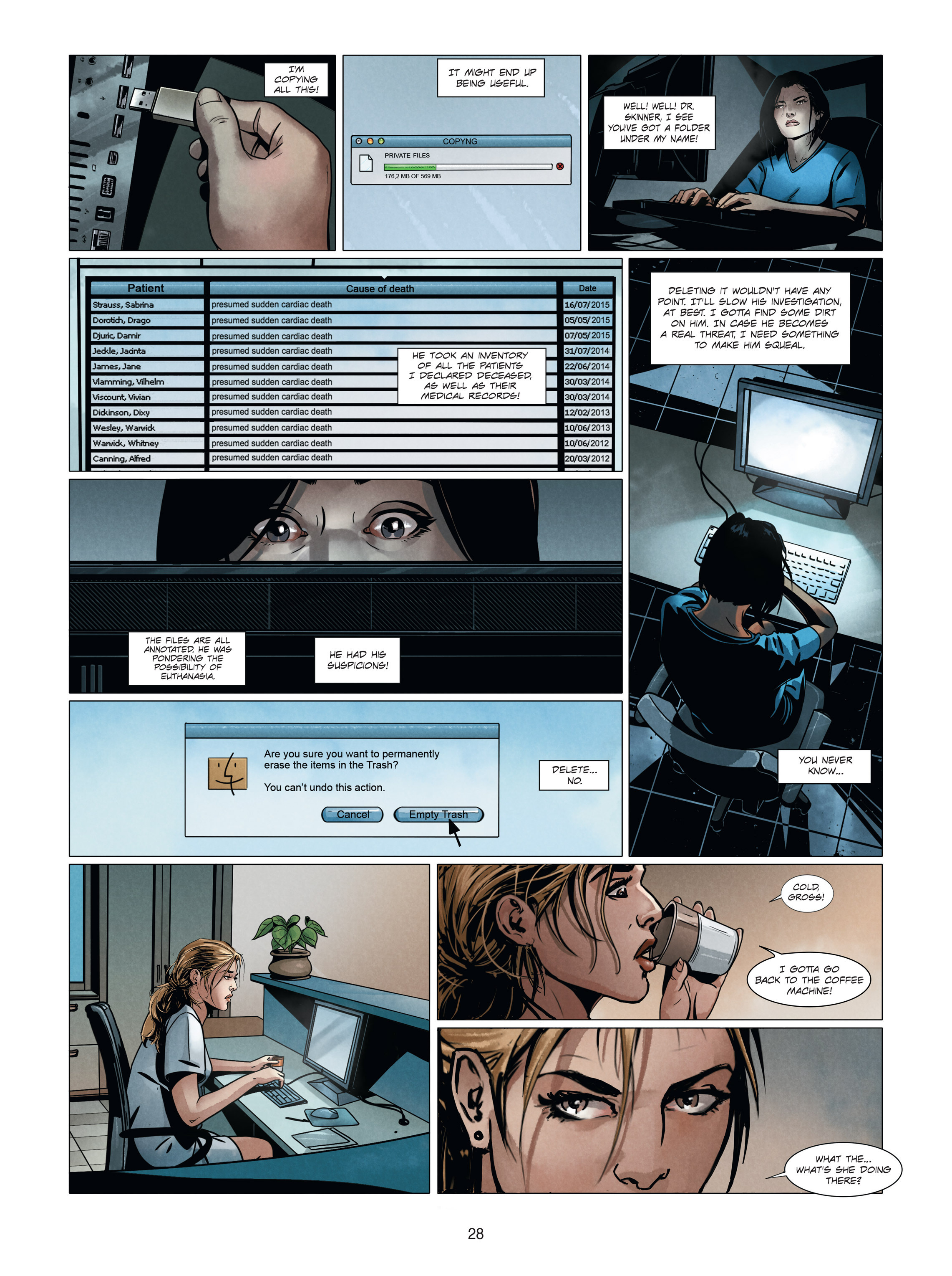 Read online Alice Matheson comic -  Issue #4 - 28