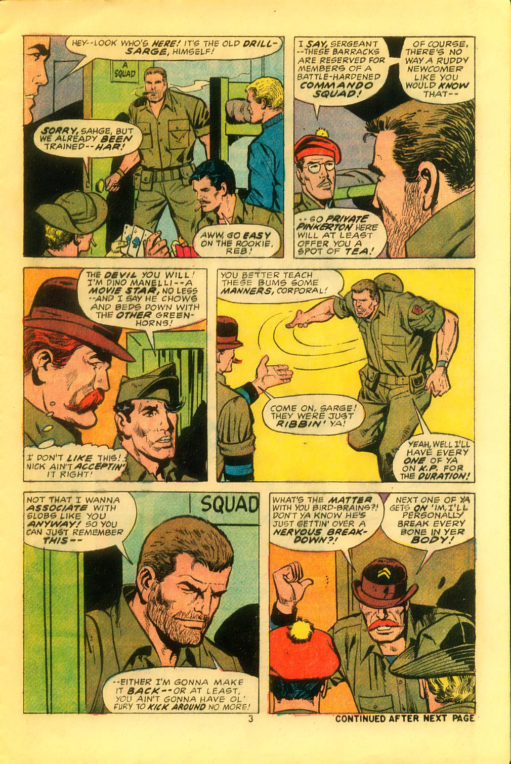 Read online Sgt. Fury comic -  Issue #116 - 5