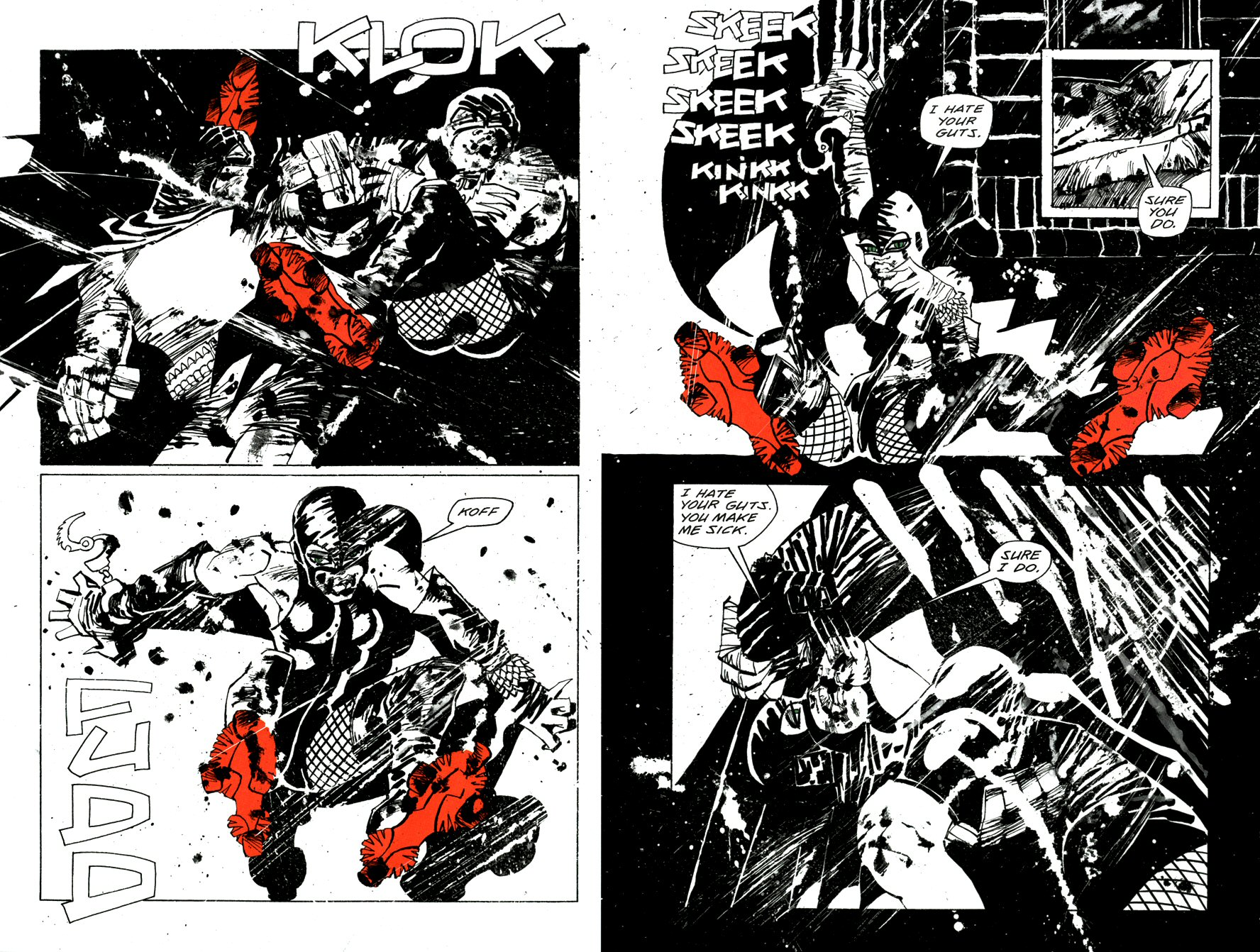 Read online Frank Miller's Holy Terror comic -  Issue # TPB - 29