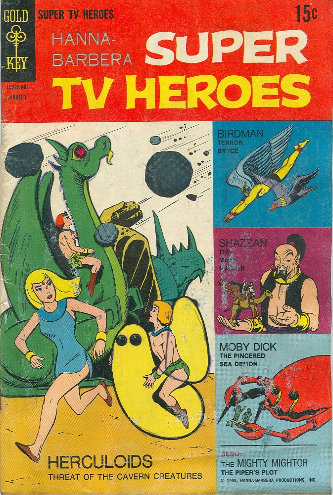 Hanna-Barbera Super TV Heroes 4 Page 1