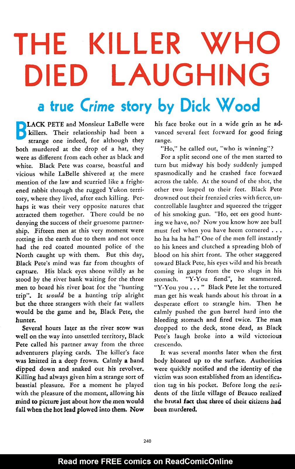 Read online Crime Does Not Pay Archives comic -  Issue # TPB 2 (Part 3) - 40