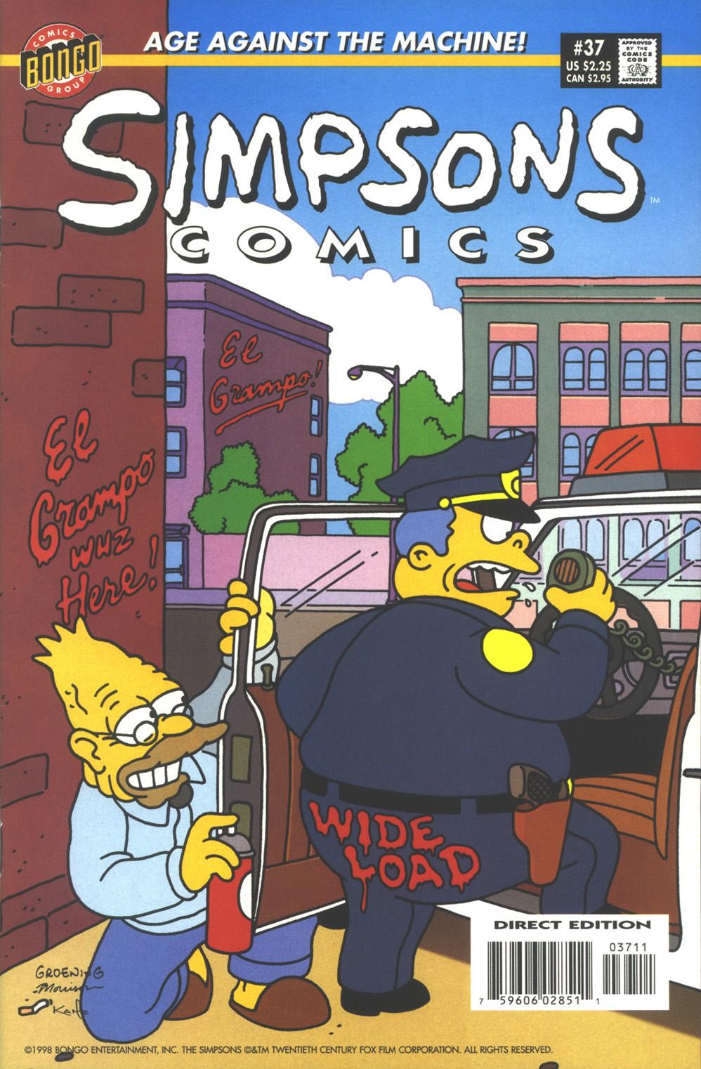Read online Simpsons Comics comic -  Issue #37 - 1