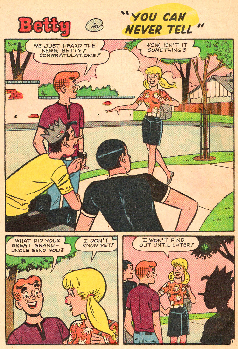 Read online Archie's Girls Betty and Veronica comic -  Issue #130 - 20