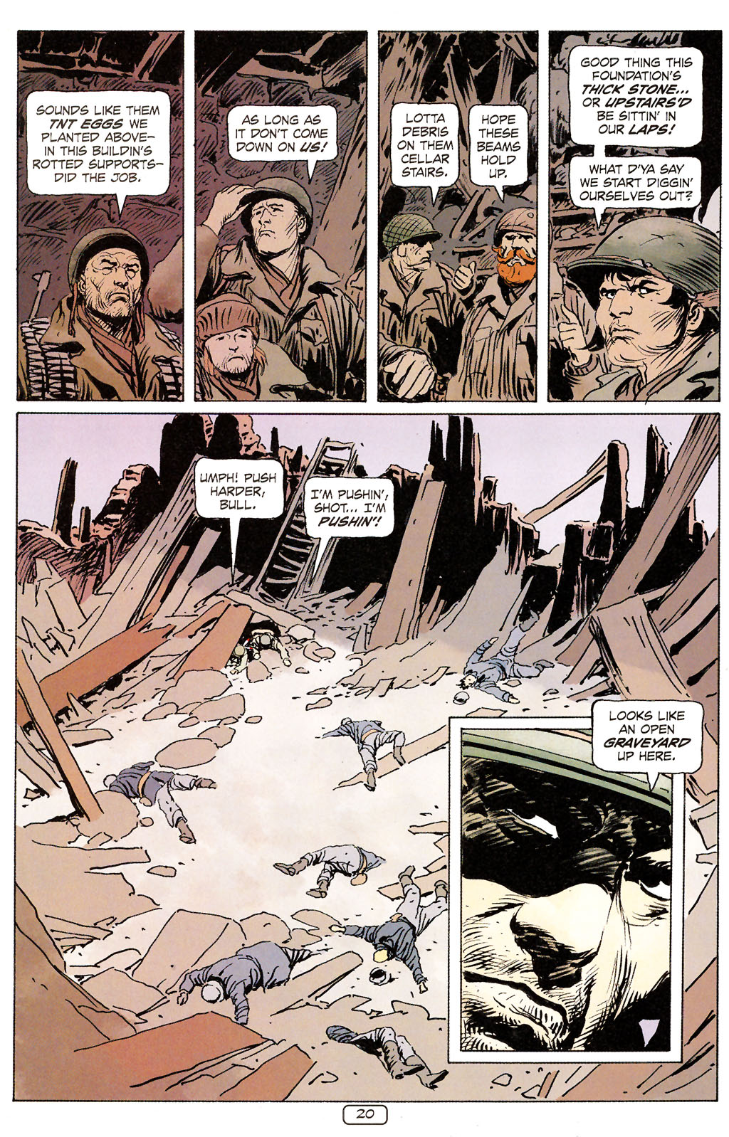 Read online Sgt. Rock: The Prophecy comic -  Issue #6 - 20