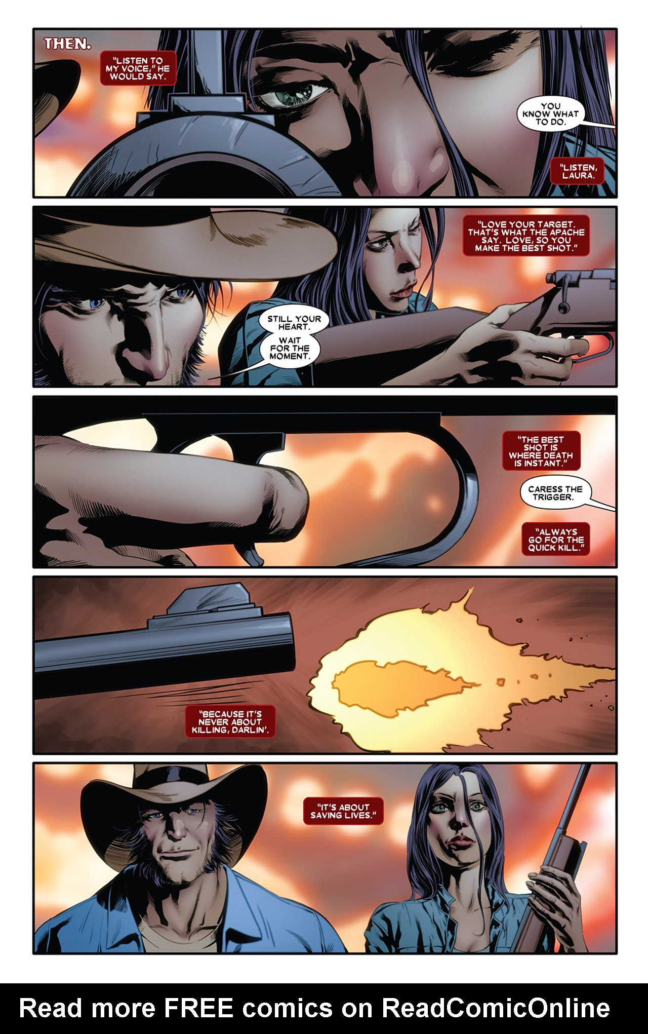 Read online X-23 (2010) comic -  Issue #2 - 3
