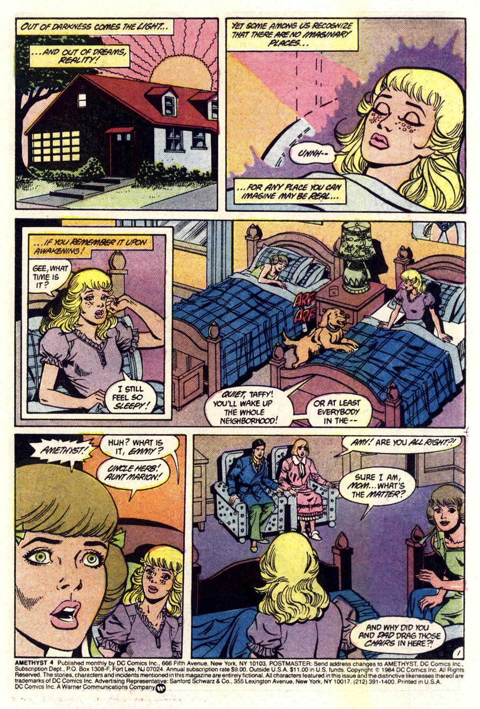 Read online Amethyst (1985) comic -  Issue #4 - 2