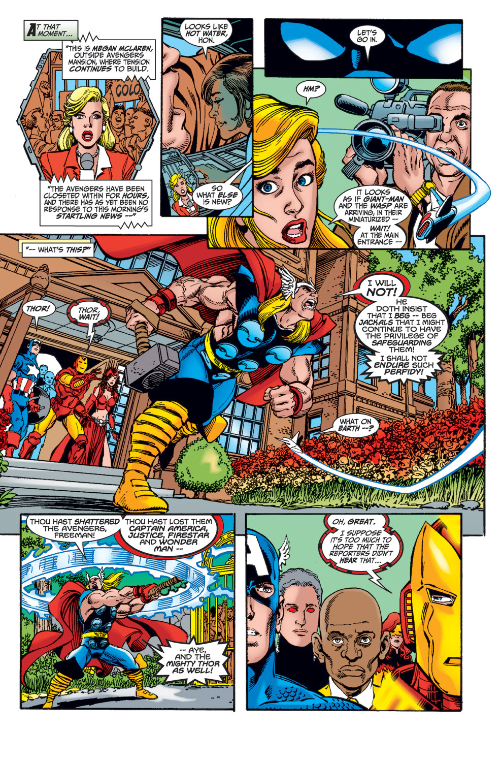 Read online Avengers (1998) comic -  Issue #27 - 9