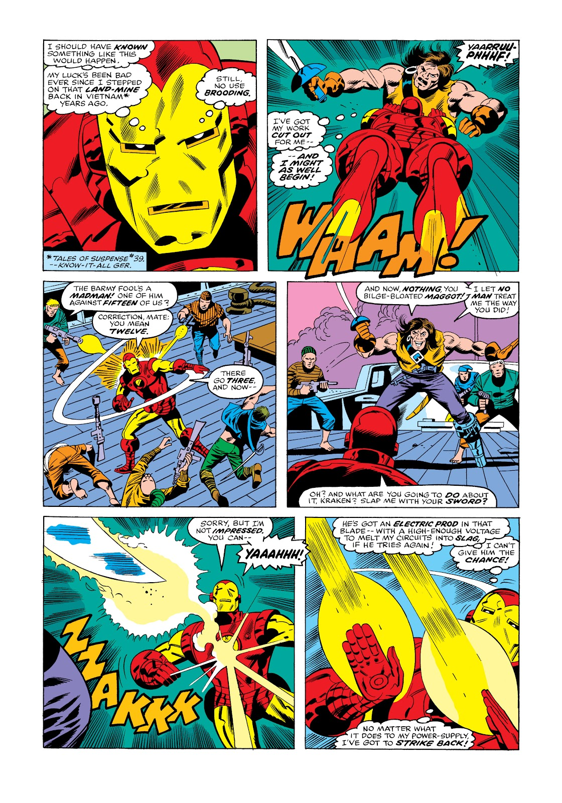 Read online Marvel Masterworks: The Invincible Iron Man comic -  Issue # TPB 11 (Part 3) - 58