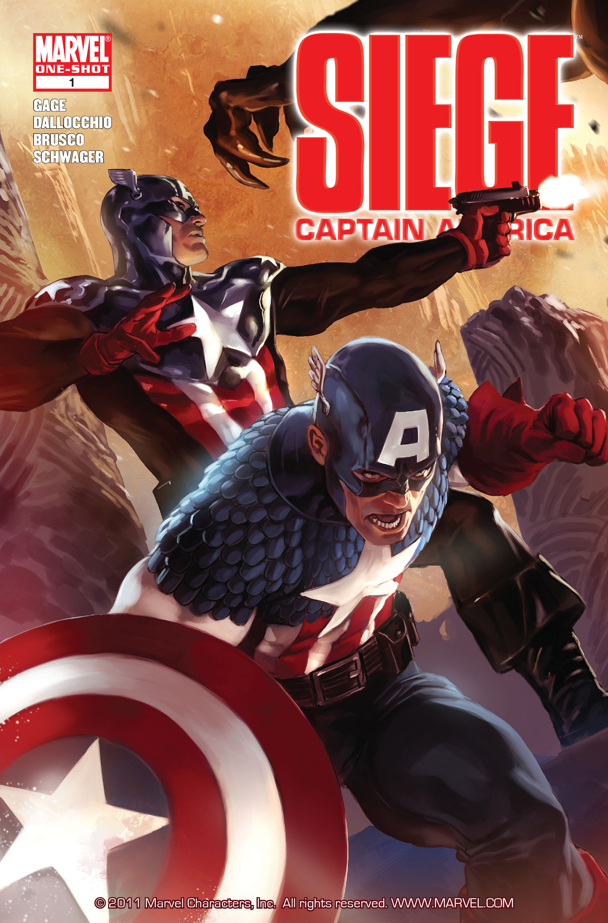 Read online Siege: Captain America comic -  Issue # Full - 1