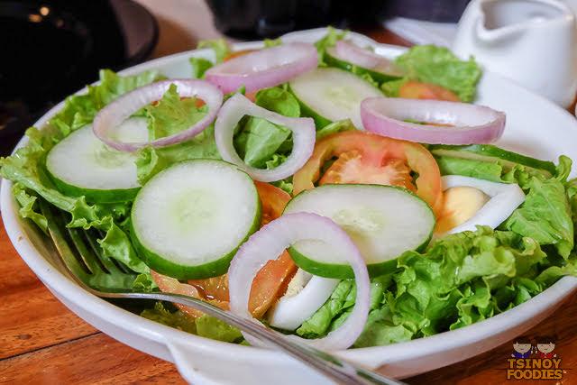 conchas garden salad