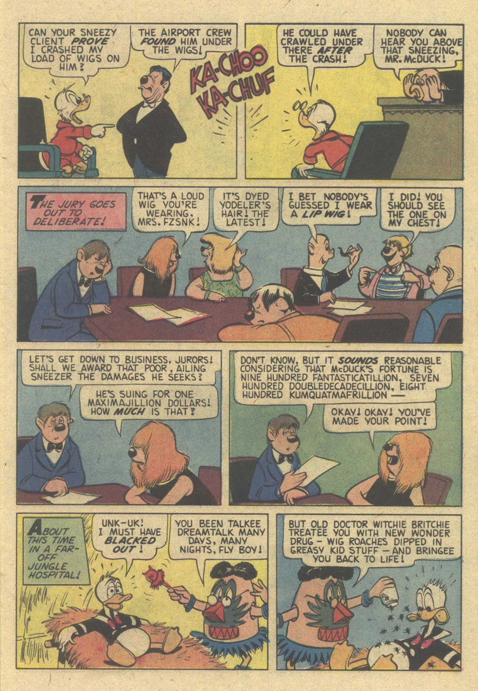 Read online Uncle Scrooge (1953) comic -  Issue #152 - 11