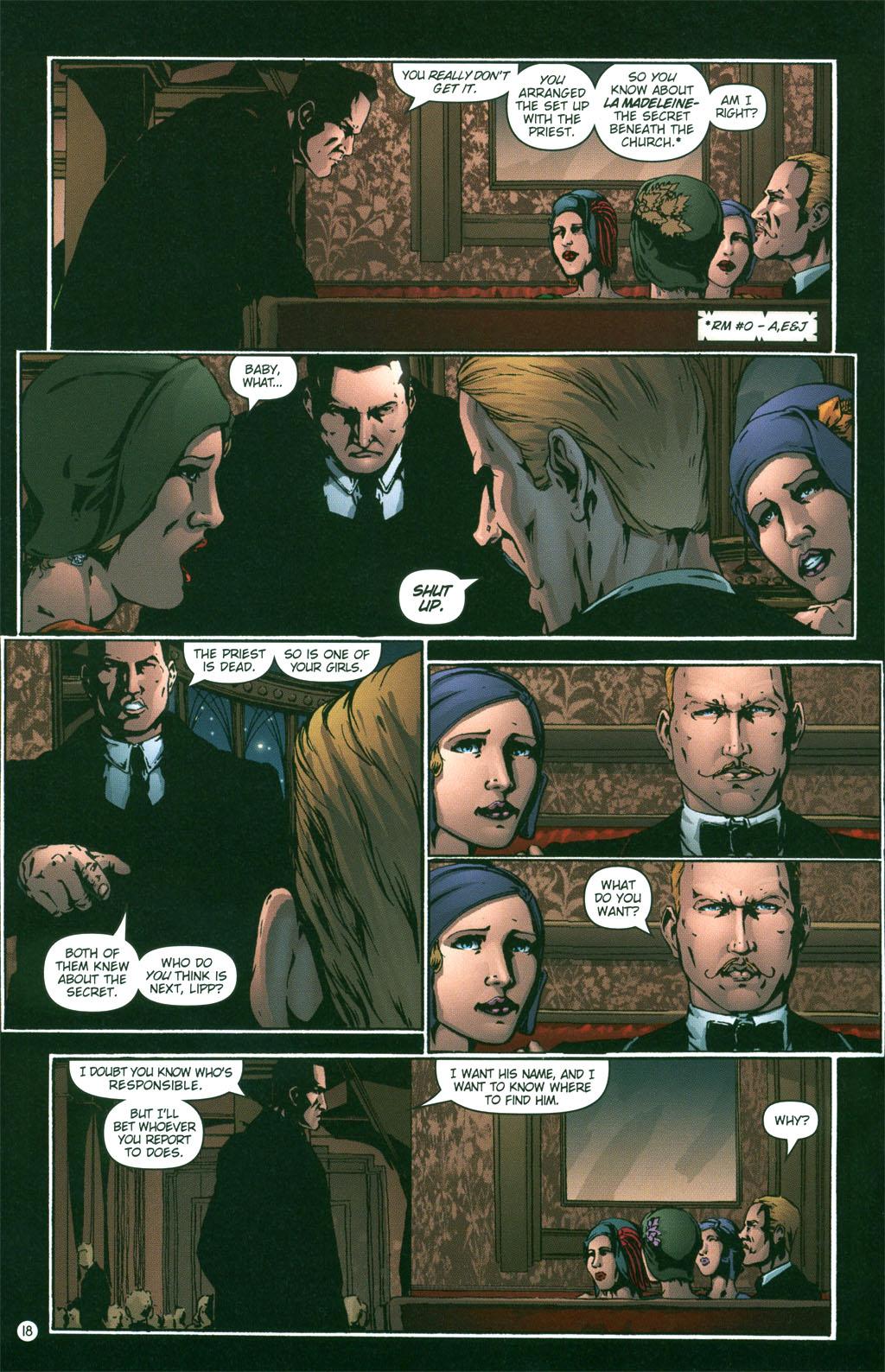 Read online Rex Mundi comic -  Issue #3 - 20