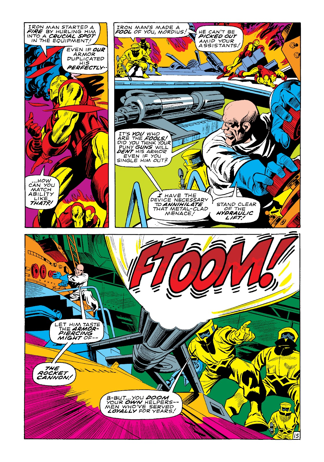 Read online Marvel Masterworks: The Invincible Iron Man comic -  Issue # TPB 4 (Part 3) - 39