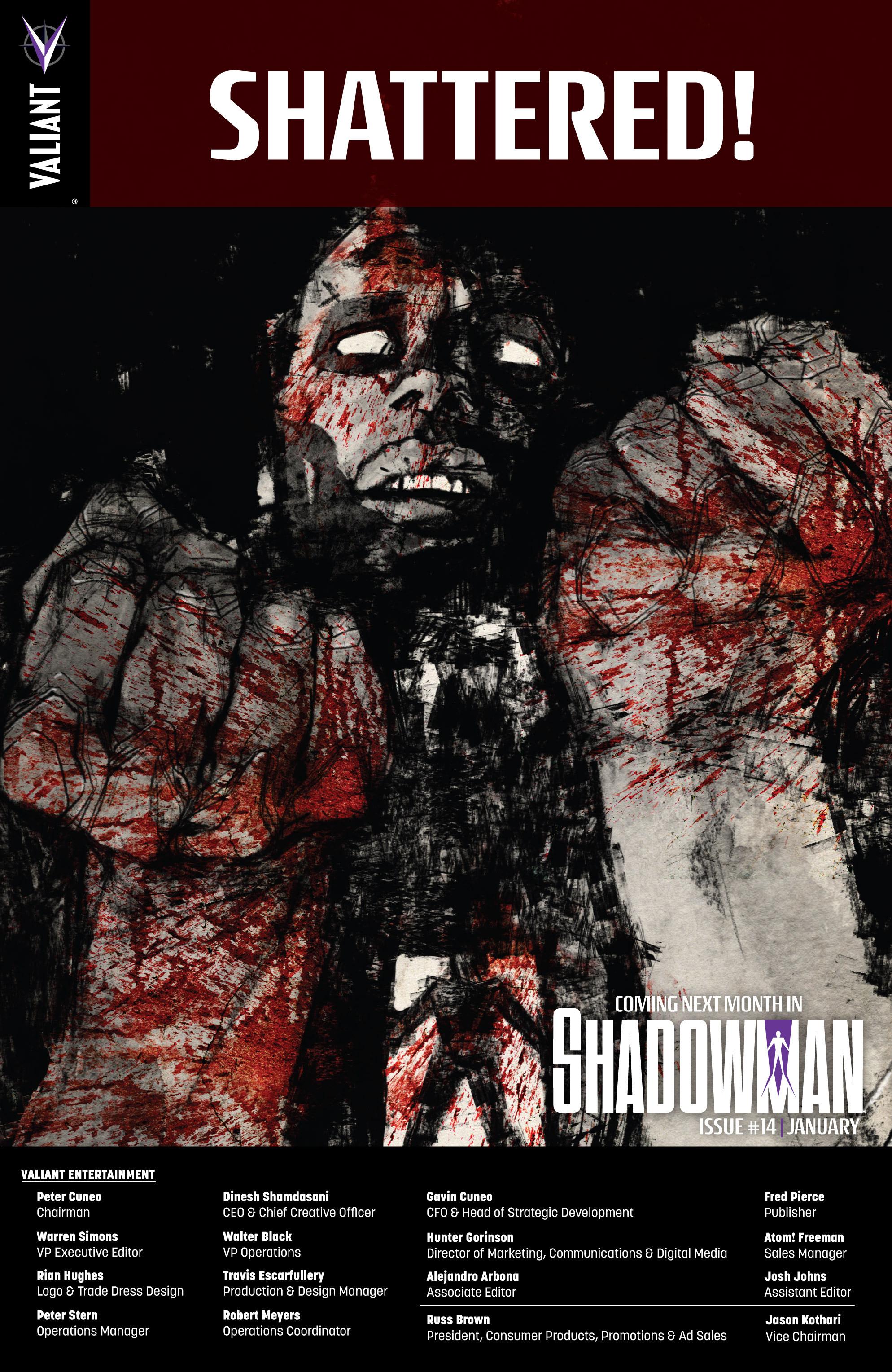 Read online Shadowman (2012) comic -  Issue #13 - 25