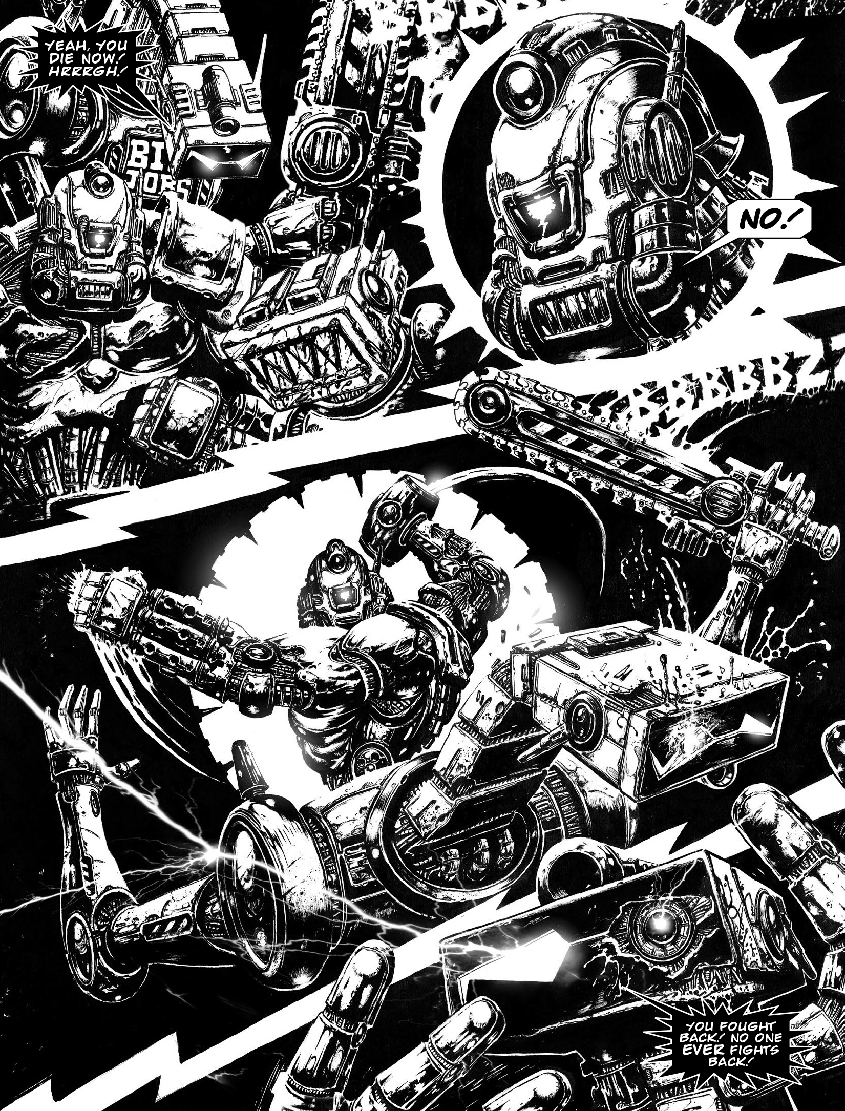 Read online 2000 AD comic -  Issue #1964 - 20