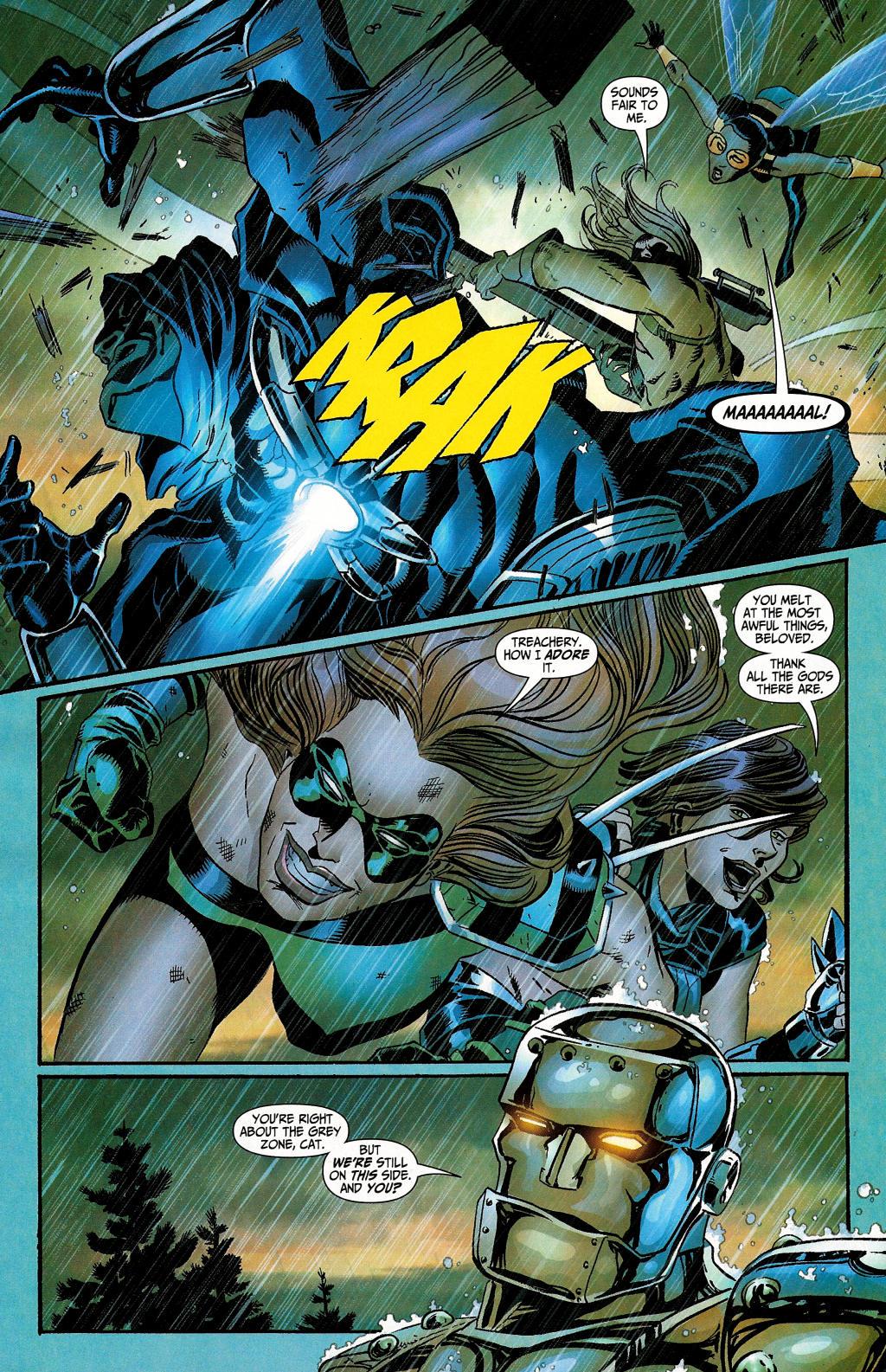 Read online Secret Six (2006) comic -  Issue #4 - 10