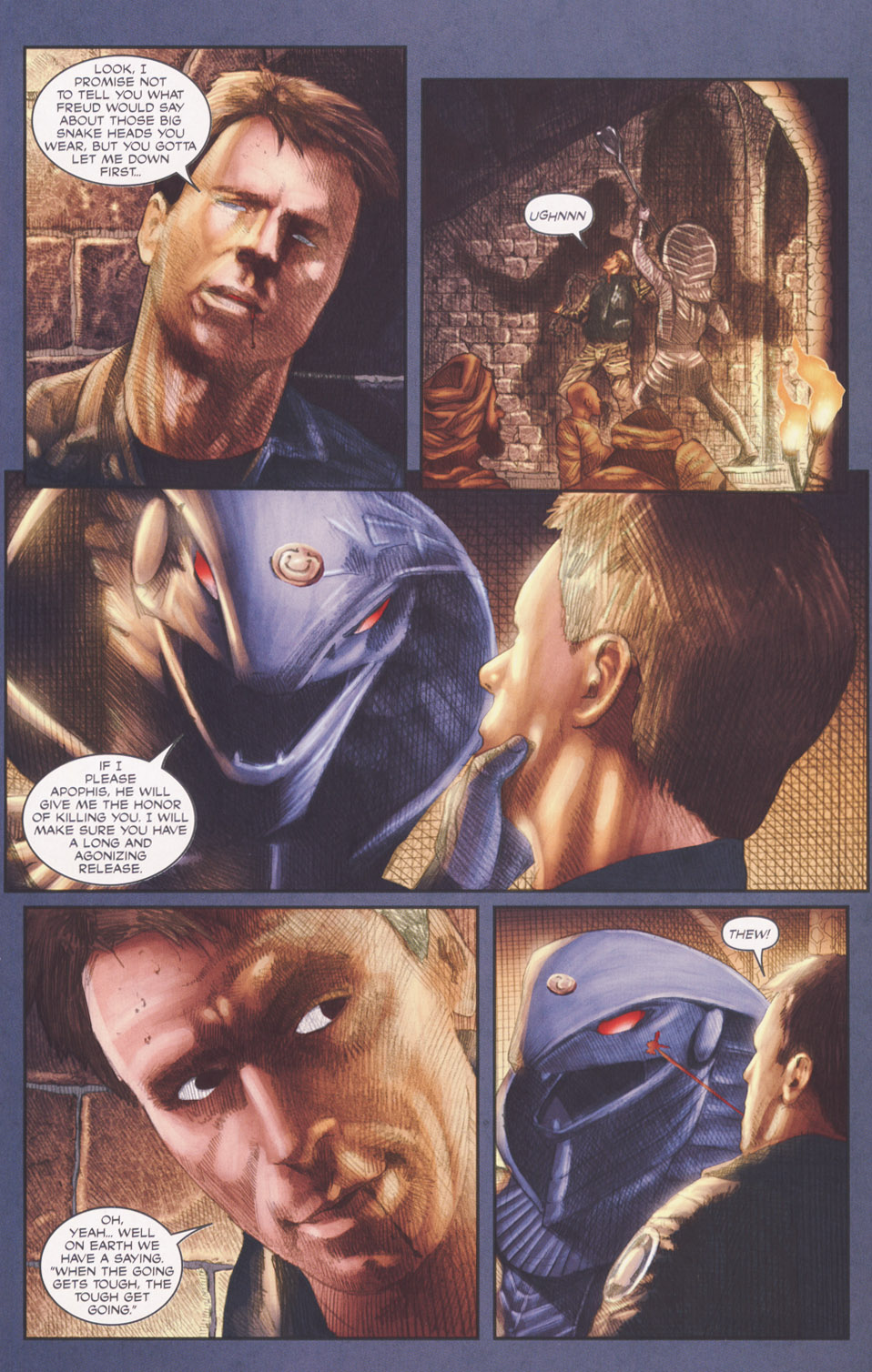 Read online Stargate SG-1: POW comic -  Issue #2 - 7