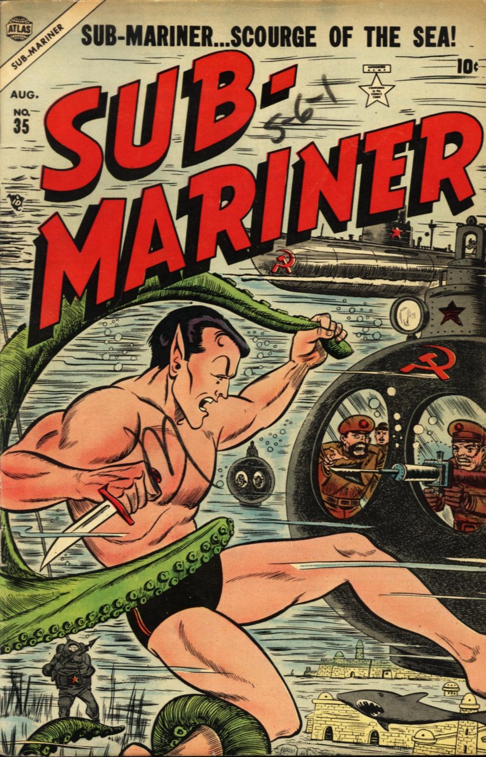 Sub-Mariner Comics issue 35 - Page 1