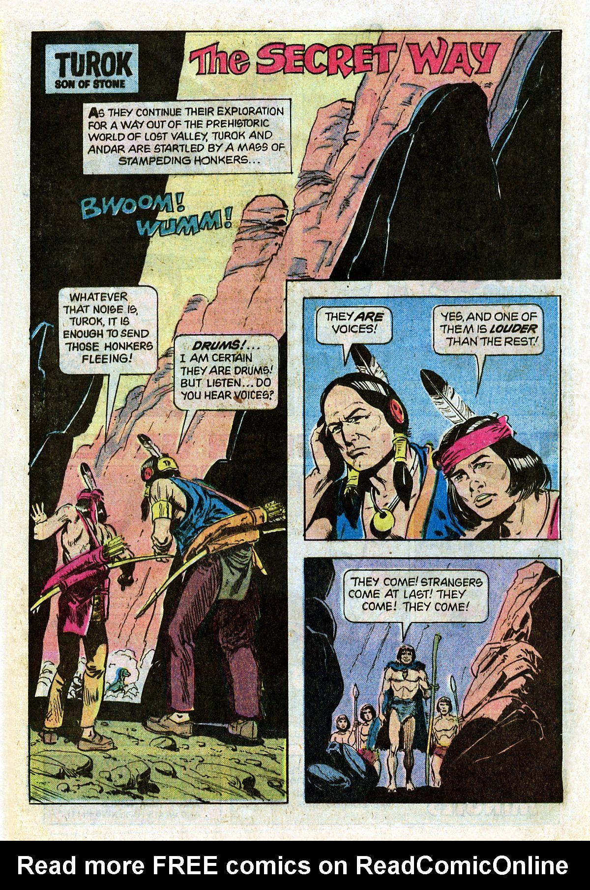 Read online Turok, Son of Stone comic -  Issue #124 - 20